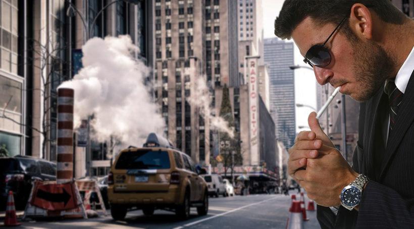 детектив в москве с сигаретой